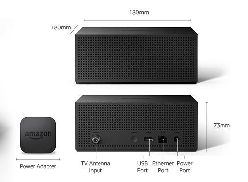Amazon Fire TV Recast 4 Tuners Version