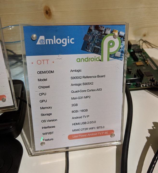 Amlogic S905X2 Reference Board
