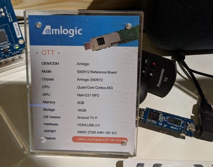Amlogic S905Y2 Reference Board