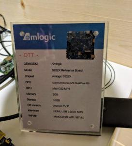 Amlogic S922X Reference Design