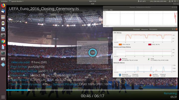 Beelink X45 Ubuntu 18.04 kodi-10-bit-hevc