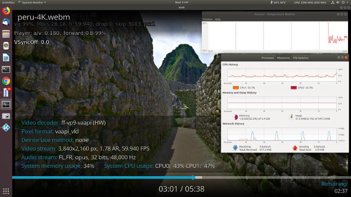 Beelink-X45-Ubuntu-18,04-Kodi-60fps