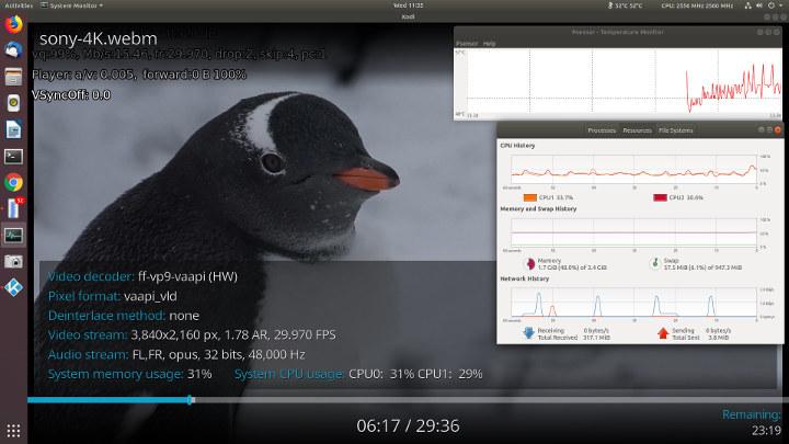 Beelink-X45-Ubuntu-18,04-Kodi-vp9