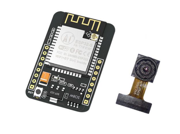 ESP32-CAM is a $10 ESP32 Camera Development Board