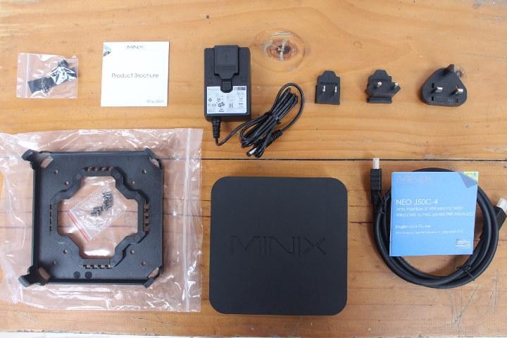 MINIX NEO J50C-4 Accessories