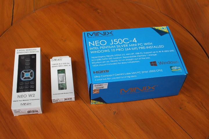 MINIX NEO J50C-4 펜티엄 J5005 미니 PC 검토