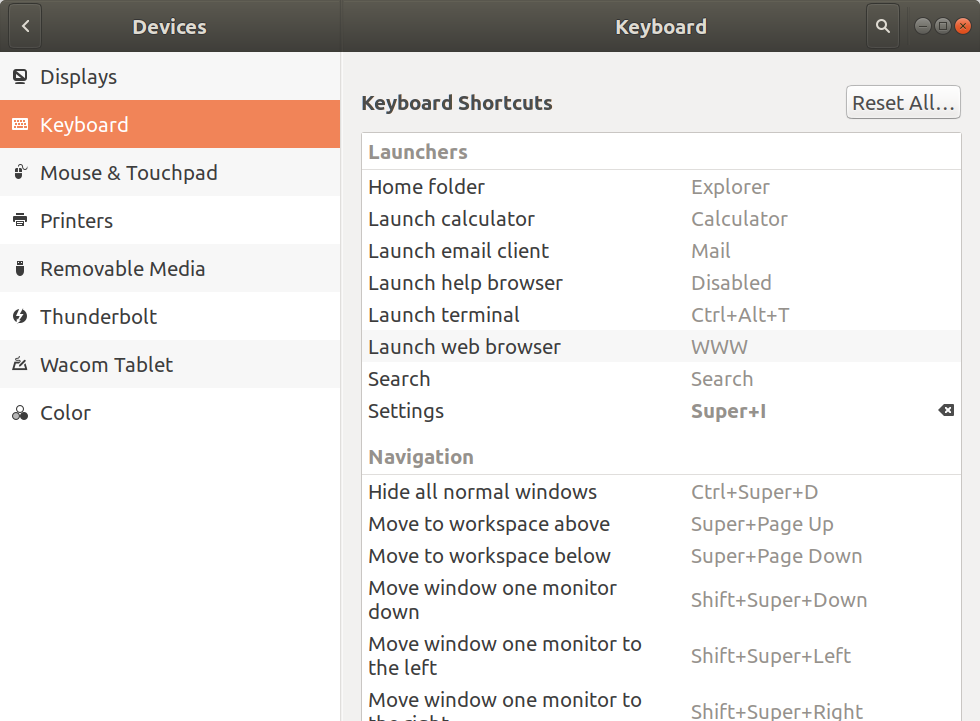 MINIX NEO W2 Remote Control Ubuntu Settings