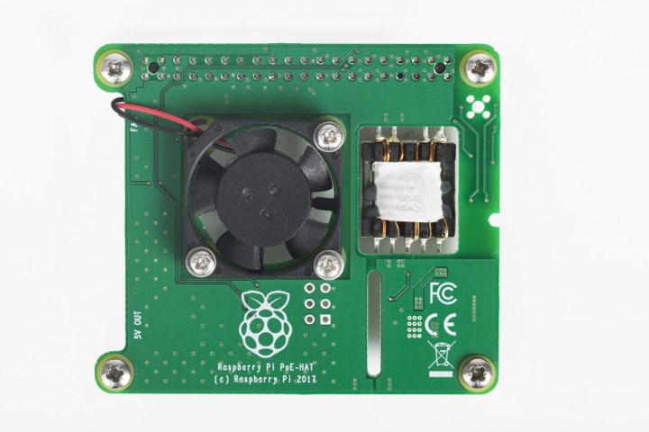 Raspberry Pi PoE HAT