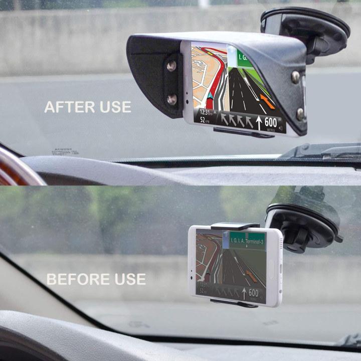 Sunshade smartphone