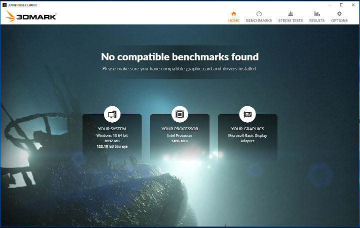 3DMark-no-compatible-benchmarks-found-missing-graphics-driver