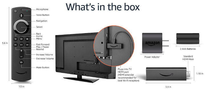 Amazon Fire TV 4K Remote Control