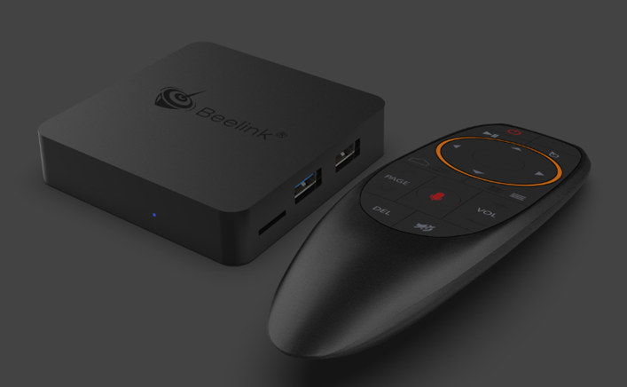 Beelink GT1 MINI S905X2 TV Box Ships with a Voice Air Mouse