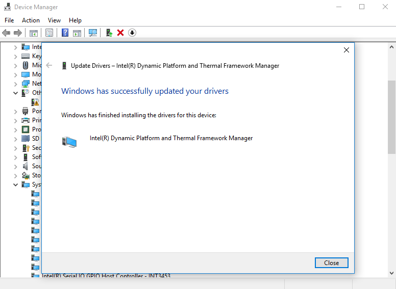 Beelink X55 Intel Dynamic Platform Driver