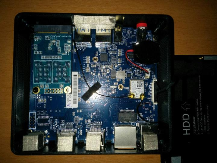 Beelink X55 board