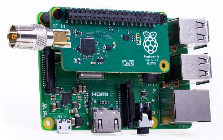 Raspberry Pi TV HAT Raspberry Pi 3
