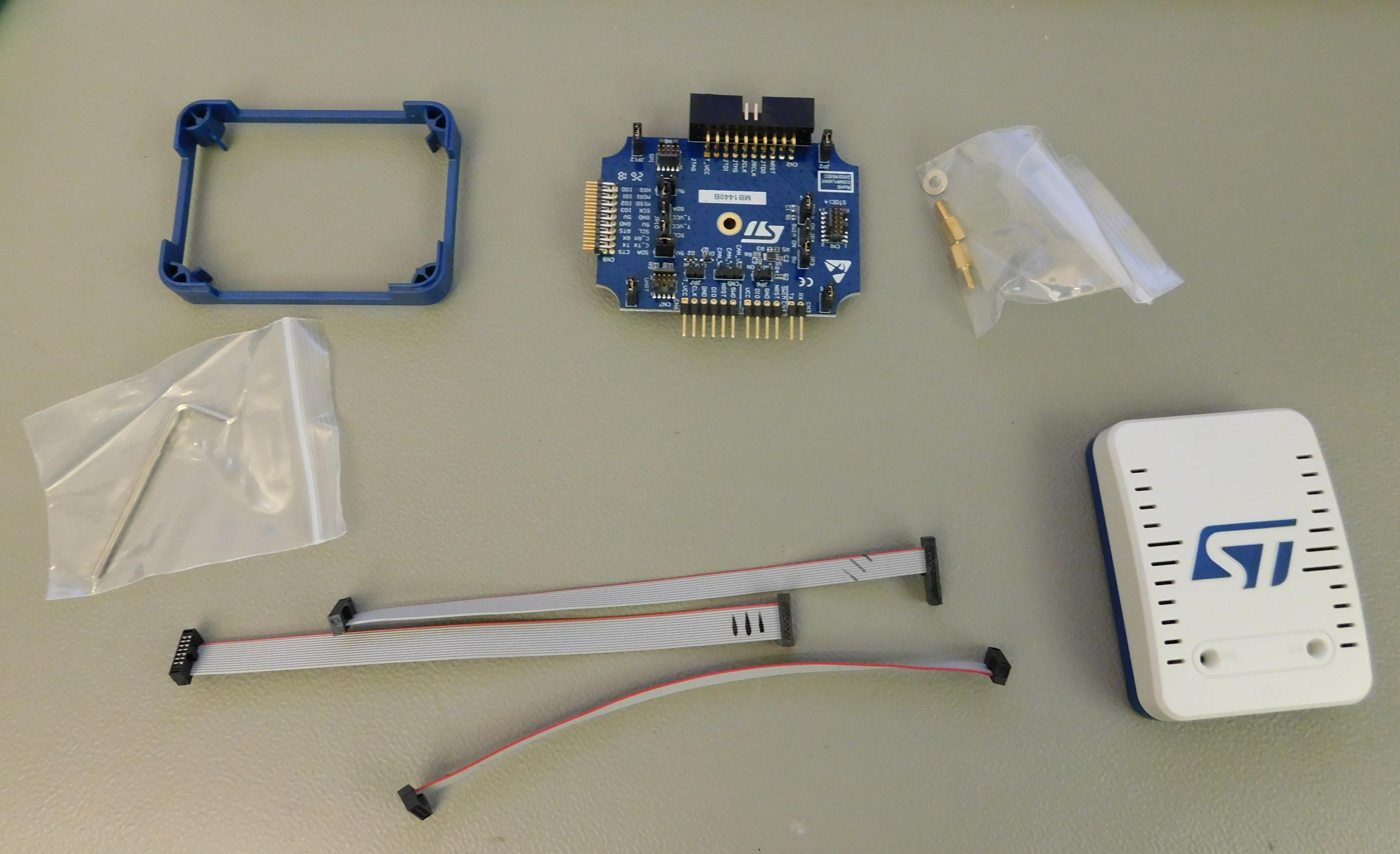 STLink-V3 Modular Debugger & Programmer for STM32/STM8 Adds I2C, SPI