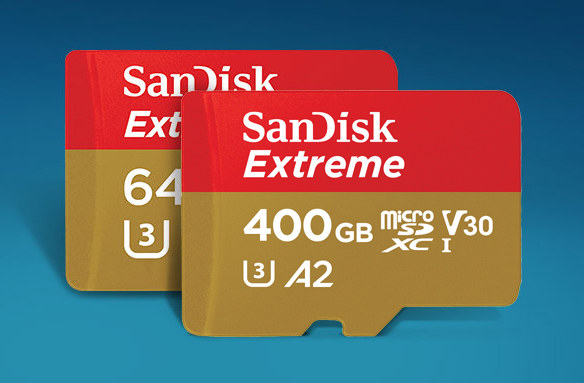 Sandisk Extreme Class A2 micro SD Card