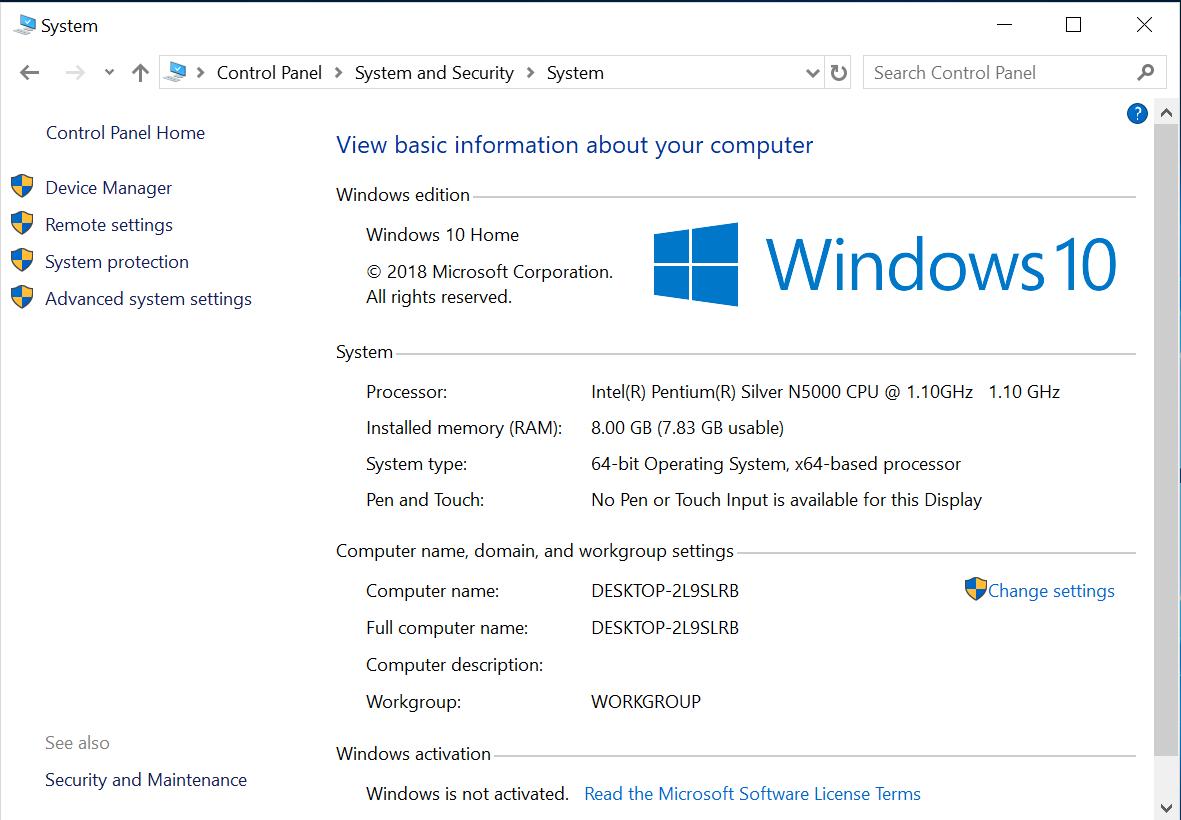 Topjoy Falcon windows 10 system