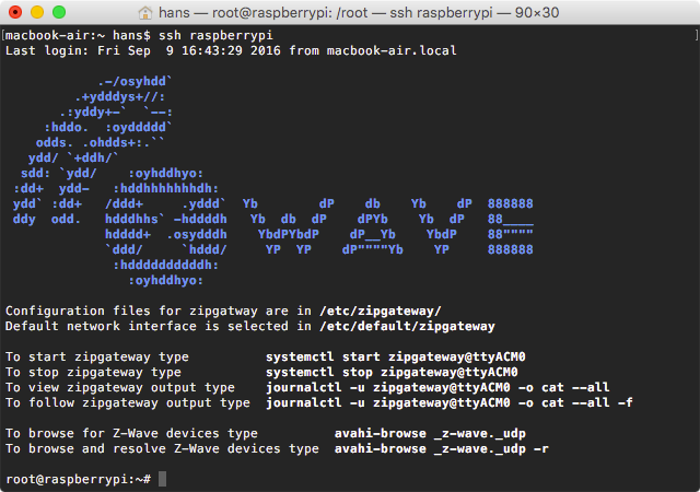 Z-Wave Raspberry-Pi