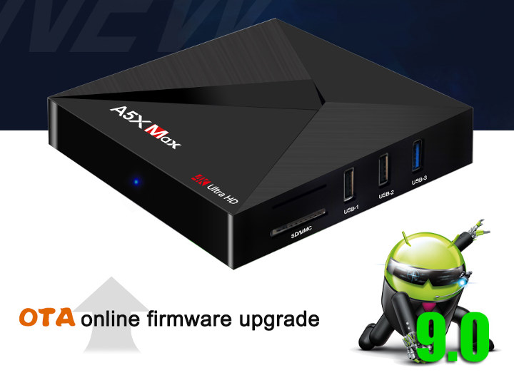 A5X Max Android 9.0 TV Box