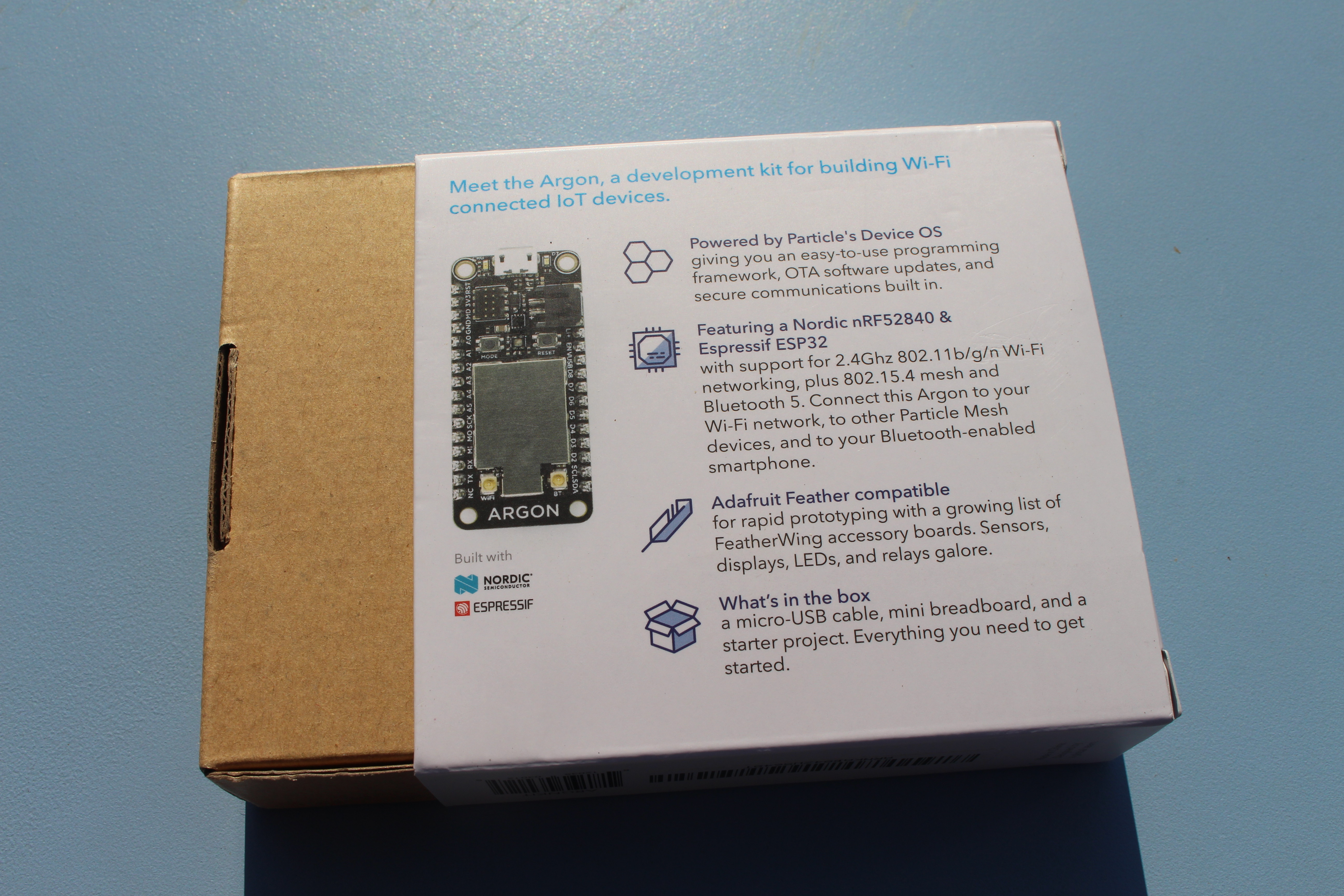 Particle Mesh IoT Development Kit Review - Part 1: Unboxing