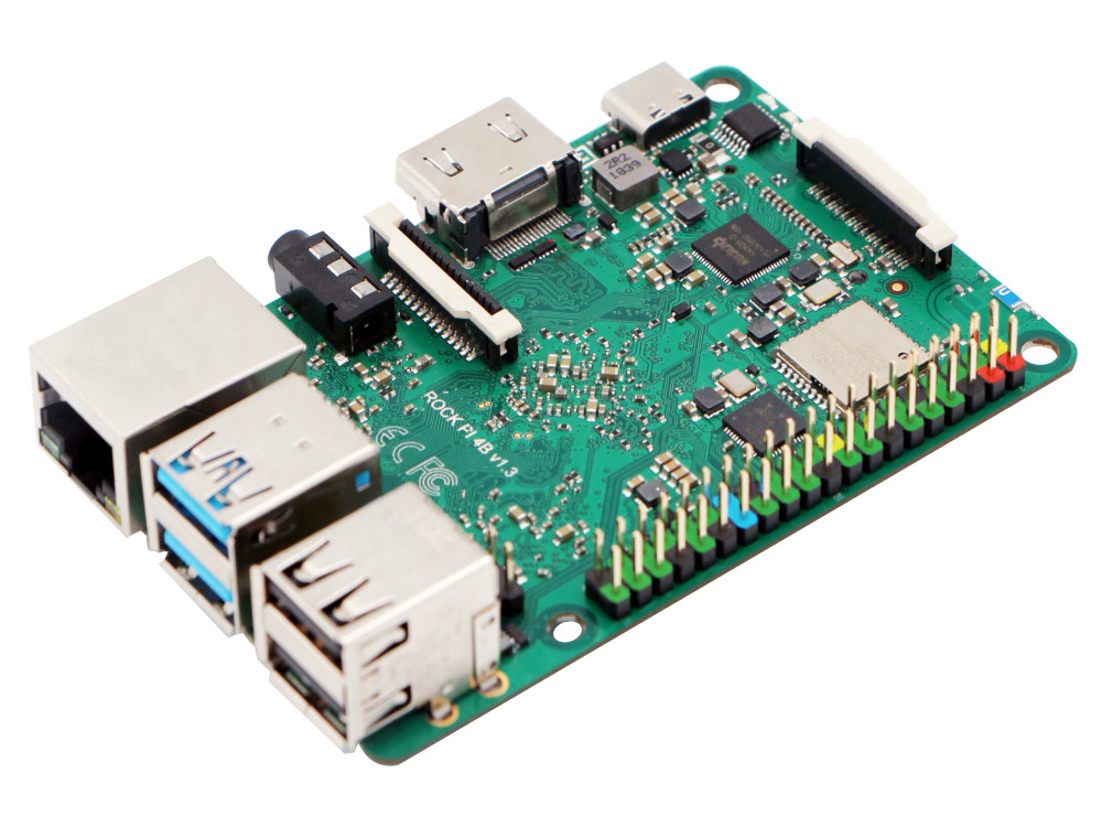 Rock Pi 4 Raspberry Pi Compatible RK3399 Board to Sell for