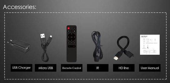 S905Y2 TV stick accessories