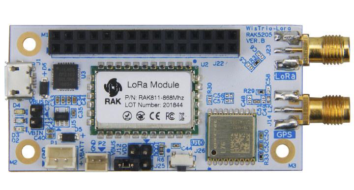 Wistrio LoRa Tracker RK5205