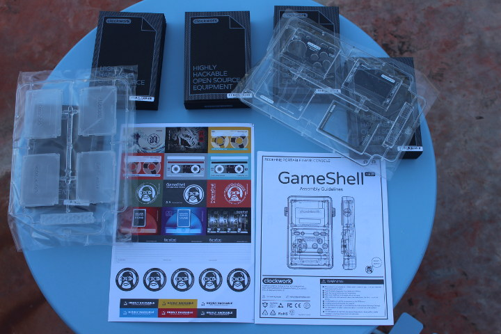 Clockwork Pi Gameshell Kit