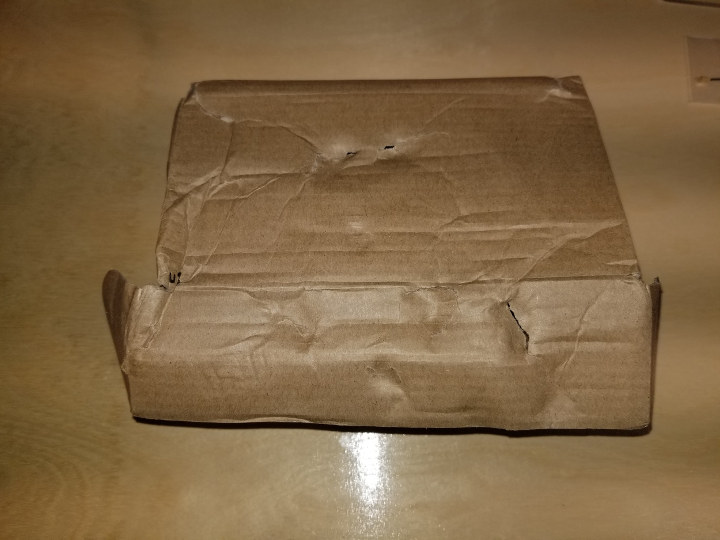 DHL Damaged Package