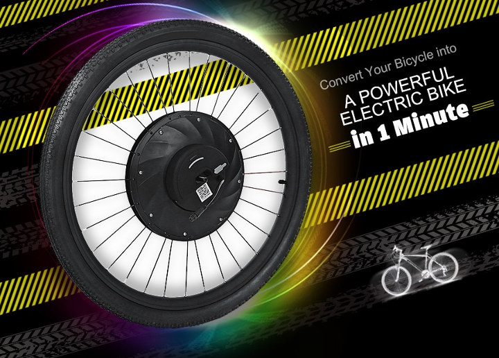 iMortor 36V-X Electric bicycle wheel