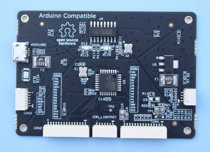 Gameshell Arduino Board