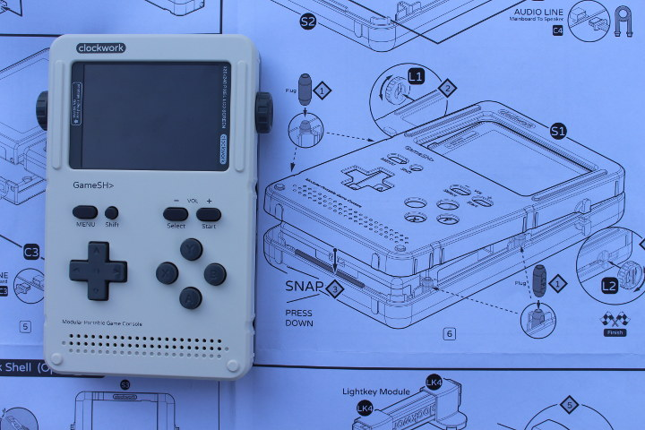 Gameshell Game Console