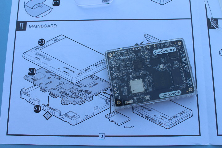 Gameshell Linux Board Assembly