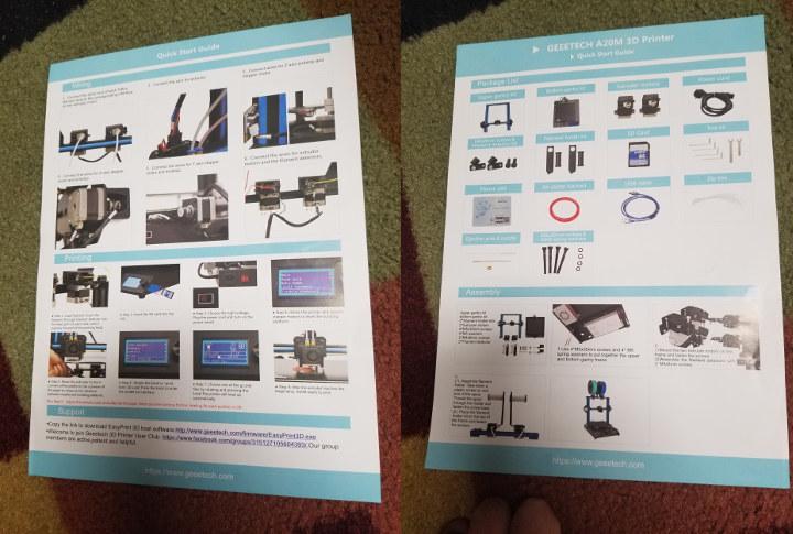 Geeetech A20M User Manual