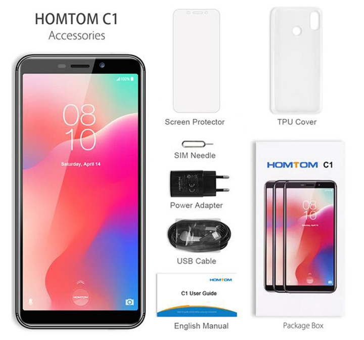 HOMTOM C1 Power Supply