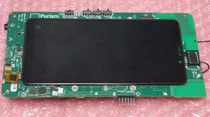 Librem 5 devkit display