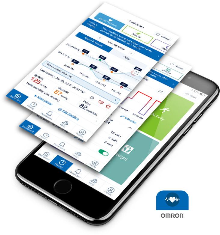 Omron HeartAdvisor App