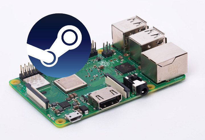 Raspberry Pi 3 Steam Link