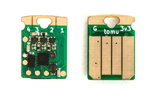 Fomu FPGA board fits inside a USB port, Supports Python