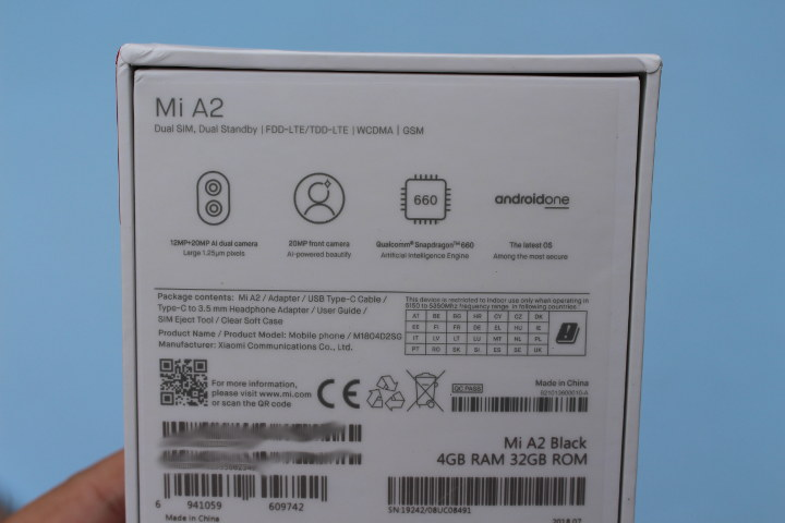 Xiaomi Mi A2 4GB/32GB
