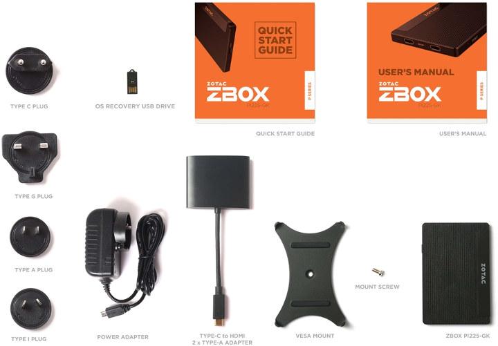 ZBOX PI225-GK