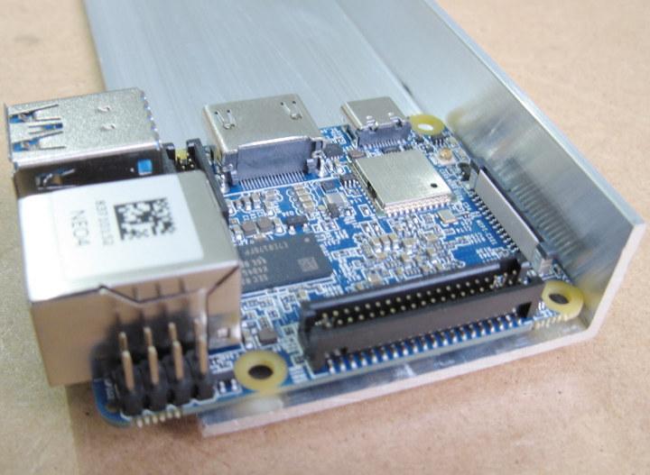 DIY Heatsink NanoPi NEO4