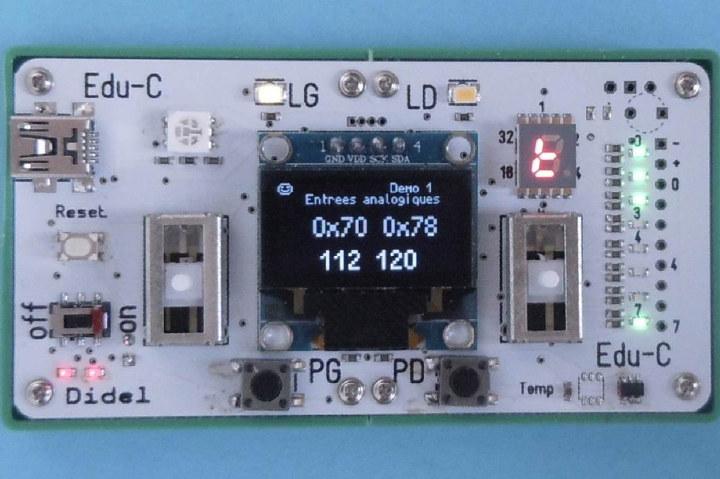 Edu-C Arduino Board Game Development