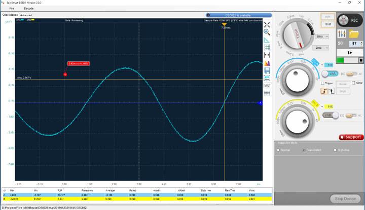 Oscilloscope-3D-Printer-coil-stepper-hand-spin