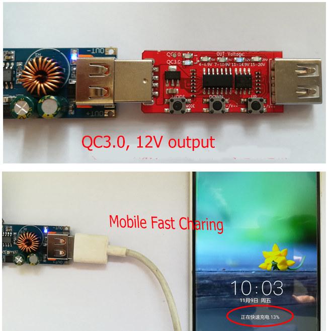 QC 3.0 charging module