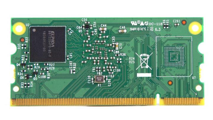 RPi CM3Plus 32GB eMMC flash