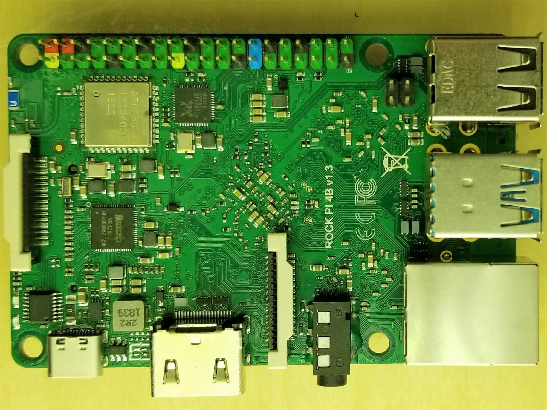 Radxa Rock Pi 4 Review - Part 1: A First Look at RockPi 4B