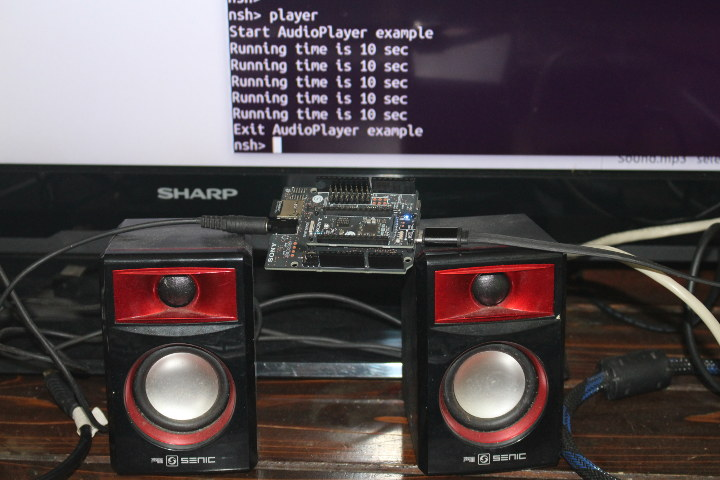 Spresense Audio Player
