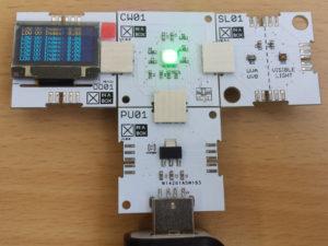 Xinabox xCHIPS ESP8266 UV Index Monitor